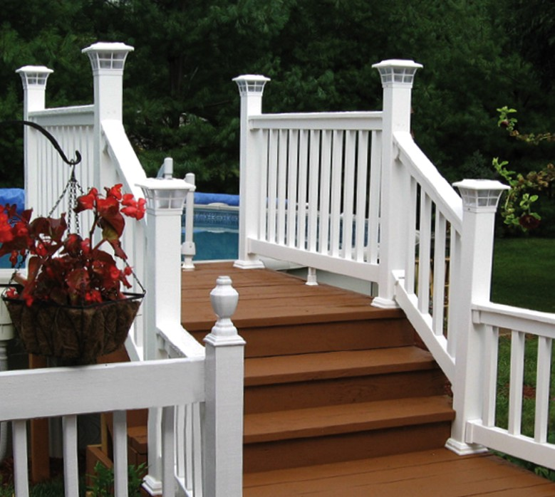 Many types of deck railing by Perma Well