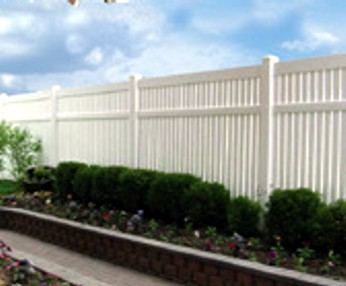 PW vinyl fence privacy at wholesale prices