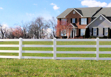 fencing for horses with Perma Well Ultraguard 4rail horse fence