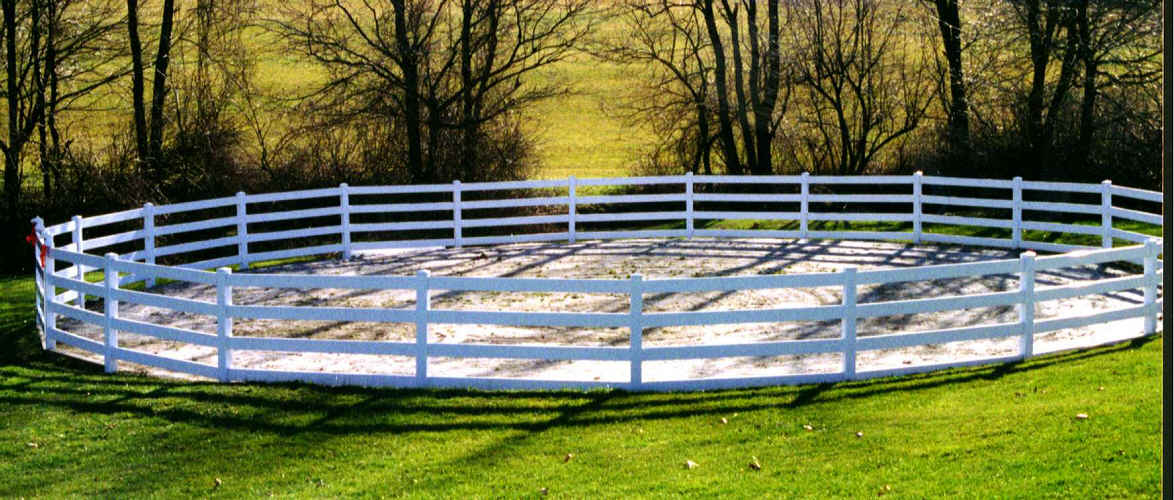 round pens for horse training